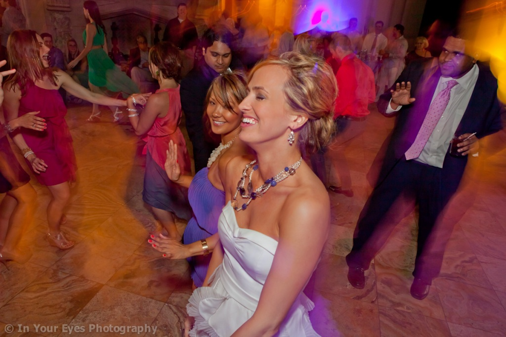 cool wedding reception photos