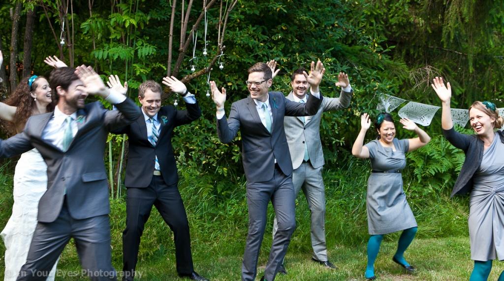 wedding day dance practice