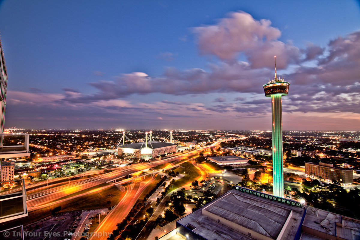 san antonio tower of the americas view