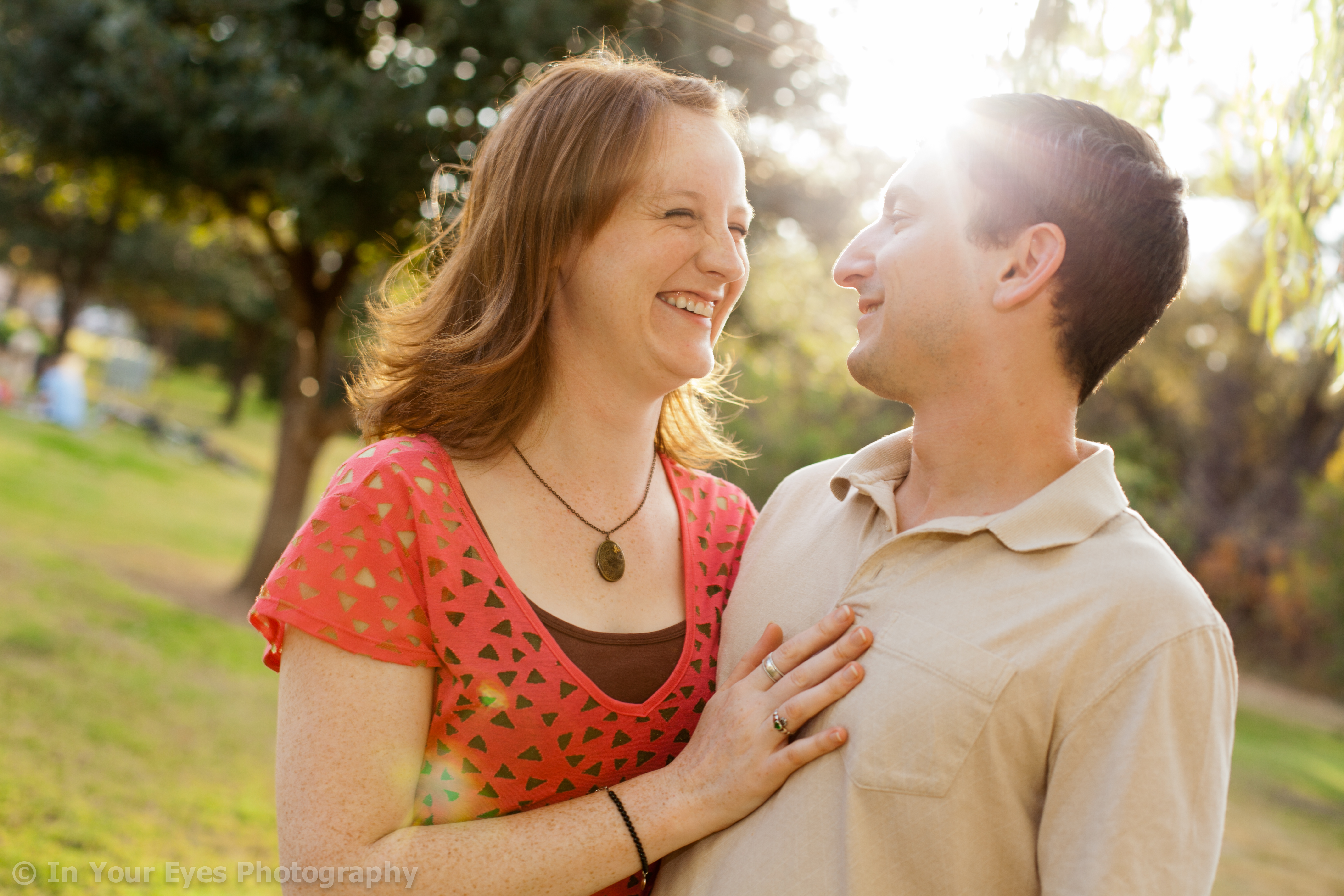 austin engagement, auditorium shores
