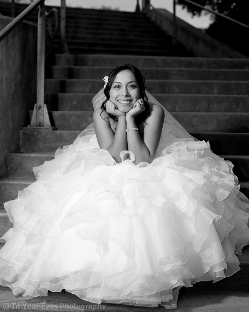 black and white bridal austin