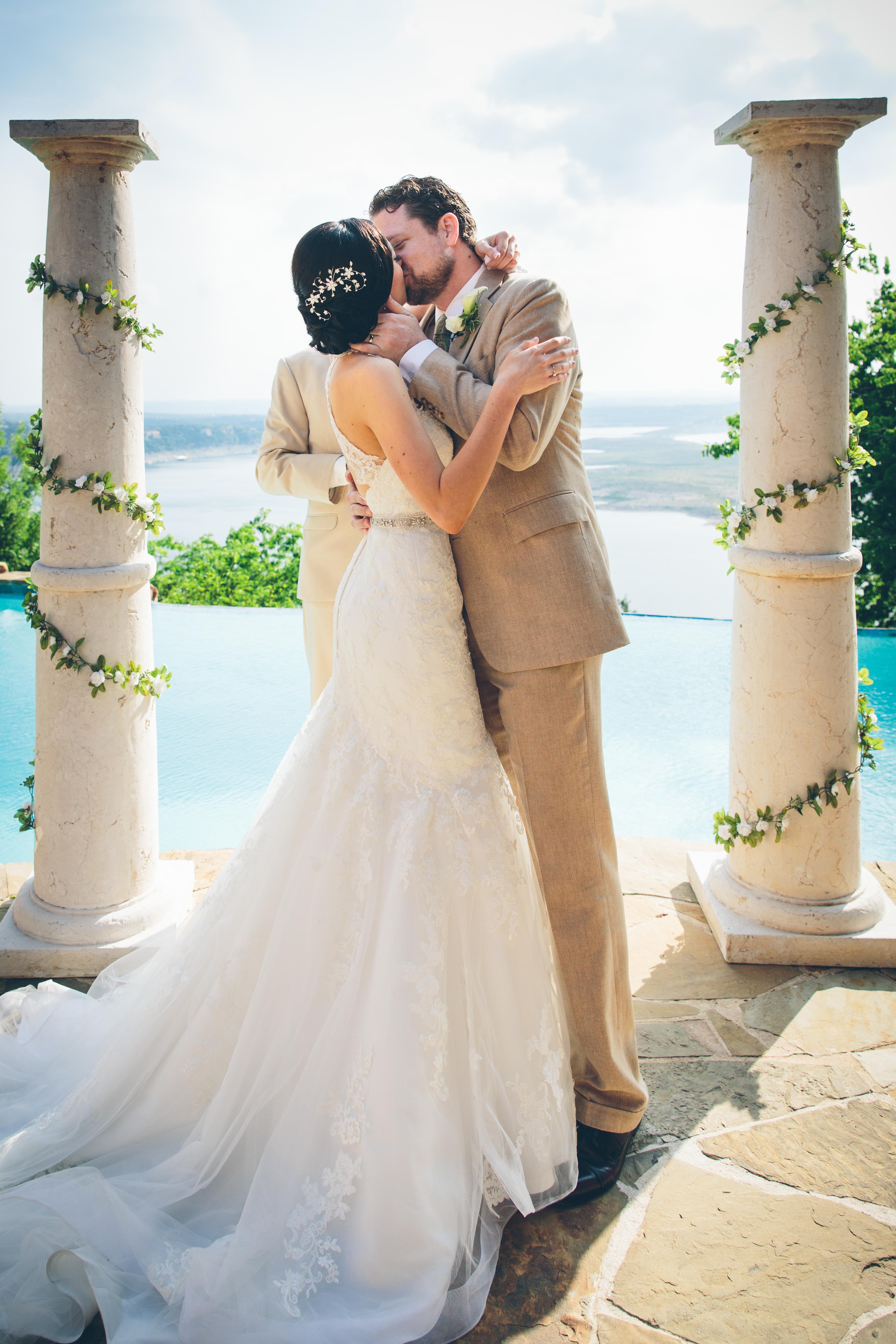 la villa vista wedding